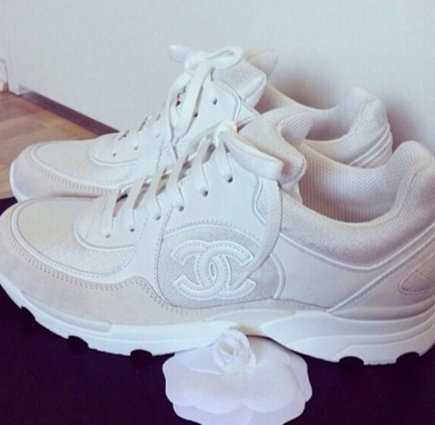 82eb5a1b3f24 qo5ayf-l-610x610-shoes-chanel-sneakers-white-fashion- ...