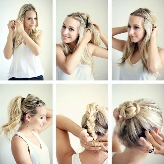 Braided-Updo-Hairstyles-Tutorials-Cute-Easy-Bun-Updos-for-Girls