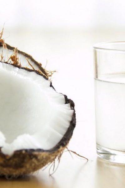 kokos vand