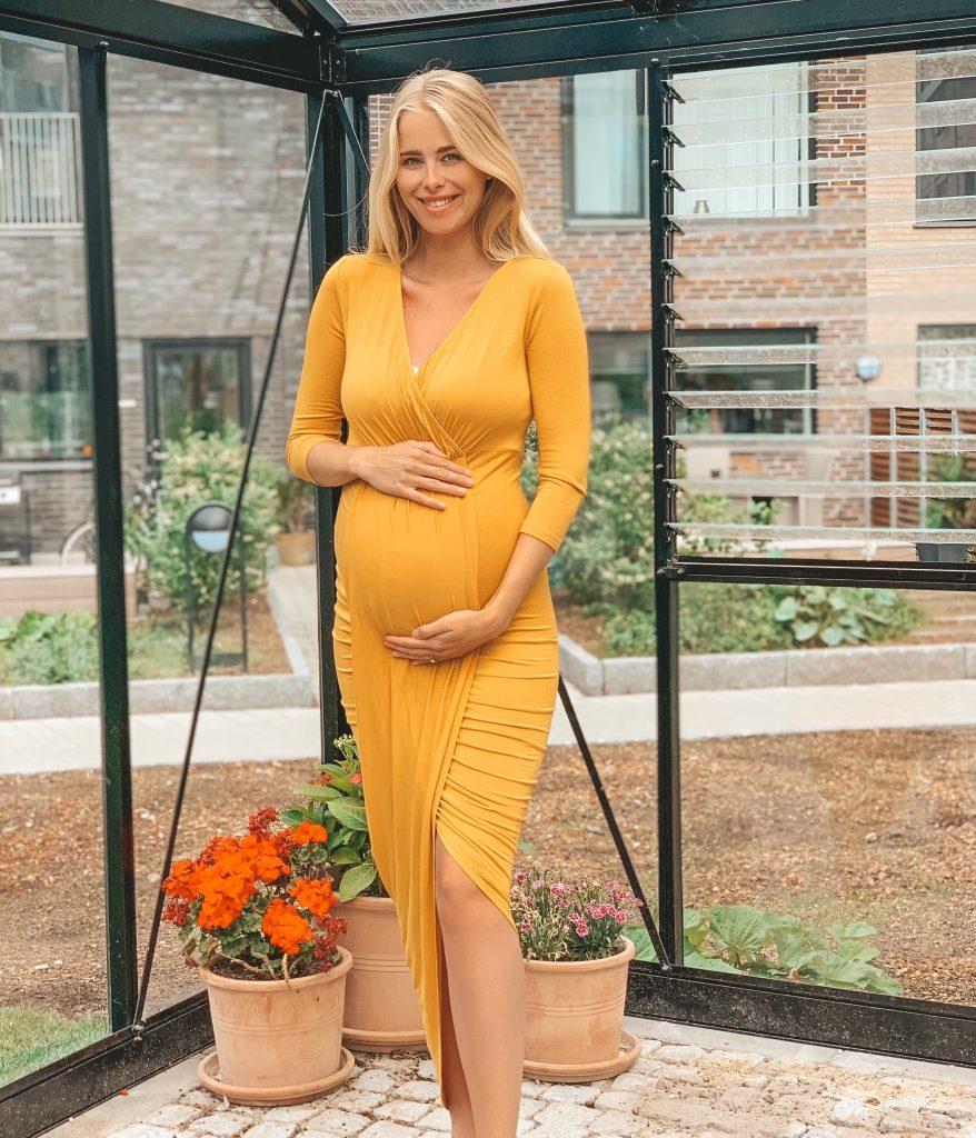 Simone Tajmer gravid